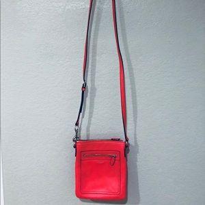 Hot Pink/Orange Coach Crossbody Bag
